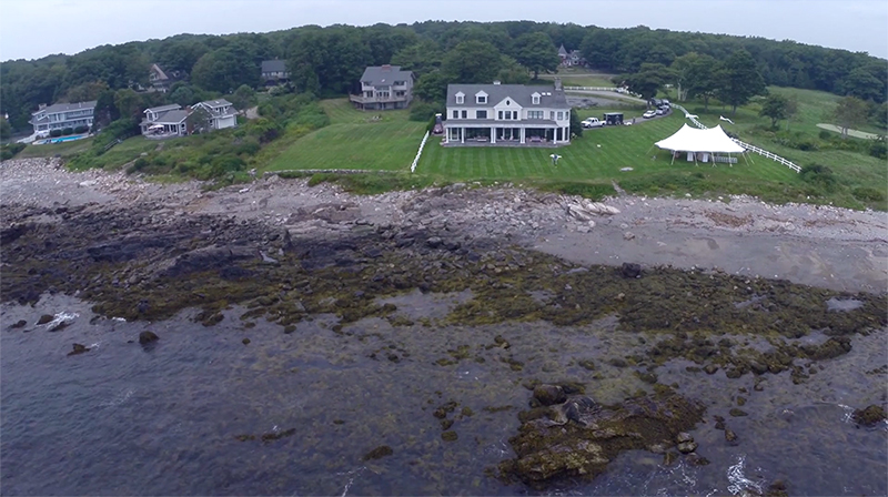 Maine real estate aerial drone videos