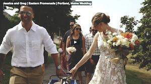 Maine wedding videographer