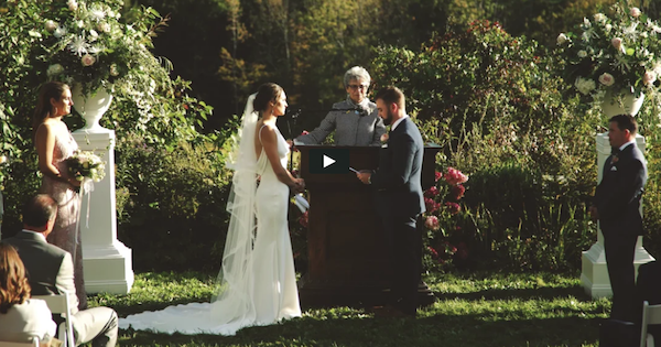 New England wedding video