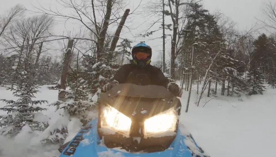 Maine winter sports videos