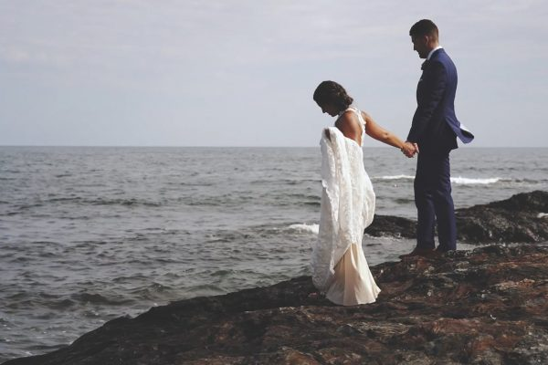 Maine luxury wedding videos